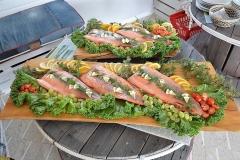 Fiskrätt klar till servering