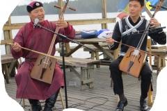 Mongolisk strupsång på bryggan